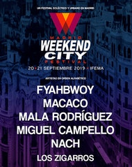 Festival Weekend City Madrid