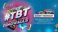 #TBT @ Dingwalls Camden  (1 FREE DRINK)