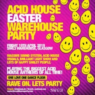 Acid House Easter Warehouse Party