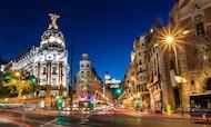 Visita guiada por Madrid de noche con espectáculo de flamenco y cena opcionales