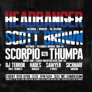 Chapel Of Chaos ft Headbanger (NL), Scott Brown, Scorpio