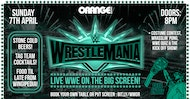 Wrestlemania Viewing Party