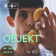 Resonate x Space Lab present: Objekt & Jane Fitz