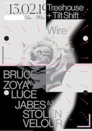Treehouse x Tilt-Shift: Bruce, Zoya b2b Luce, Jabes b2b Stolen Velour