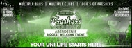 Aberdeen`s Biggest Welcome Party// The Mile Freshers Pub Golf 2019// Your Uni Life Starts Here!