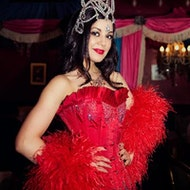 Burlesque At The Richmond Tearooms