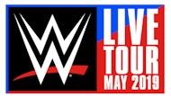 Wwe - Live Tour 2019 - Official Platinum Tickets