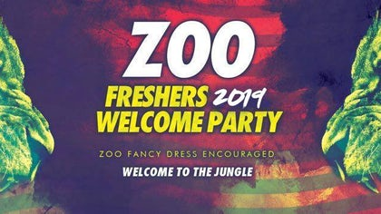 Manchester Freshers Welcome Party | ZOO Theme Special