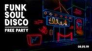 Disco, Funk & Soul Free Party - Nottingham