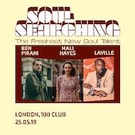 """""""soul Searching"""" Uk Tour Ft Ben Pirani + Tanika Charles + Laville"""