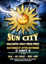 Sun City Halloween Fancy Dress Party