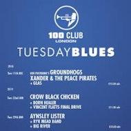 London 100 Club Tuesday Blues - DANI WILDE
