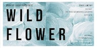 Barley Soup Presents // Wild Flower // Free Entry