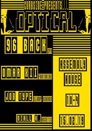 Curb Side presents: Optical with 96 Back