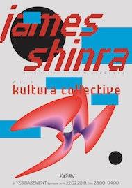 Kultura Collective with James Shinra [live]