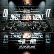 OPEN DECK NIGHT