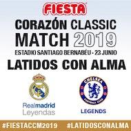 Real Madrid Leyendas - Chelsea FC Leyendas