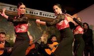 Espectáculo de flamenco en el Corral de la Morería en Madrid