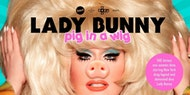 Lady Bunny Pig in a Wig