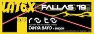 Tanya Bayo + Emidem En Roto    Sunday Night    Fallas 2019