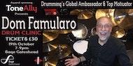 Dom Famularo Drum Clinic