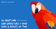All Night Long: 24 Hour Garage Girls, Rinse & Repeat Tour
