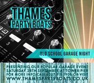 Garage Night Boat Party 28/09/2019