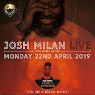 Josh Milan Live + Support Angela Johnson