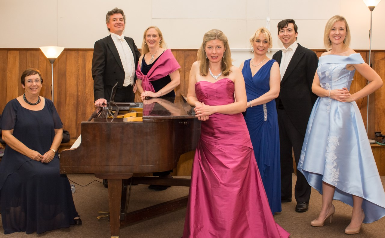 A Box of Opera Delights: A concert given by the Felici Opera company in the Saloon at Copped Hall.