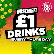 Mischief : Thursday 6th June : Club 88 Croydon