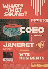 WTS Presents: COEO & Janeret