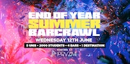 End Of Year Summer Barcrawl - PRYZM - T-Shirts on sale now!