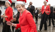 dance into christmas day like theresa may