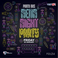 """Neon"" Party Bus to Pryzm Birmingham"