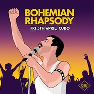 Bohemian Rhapsody - Queen Tribute Night at Cubo - Fri 5th April