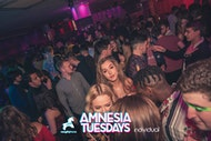 AMNESIA TUESDAYS! £1 Entry + FREE JAGERBOMB Guestlist*!