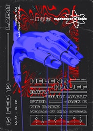 space•lab Launch Party with Helena Hauff, Batu, Truly Madly & Sybil,