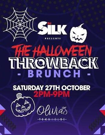 DJ Silk presents The Halloween Throwback Brunch