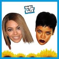 Baby Got Back ♛ Beyonce Vs Rihanna ♛ 90p Bombs
