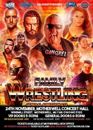 Family Wrestling WWE Star Gangrel