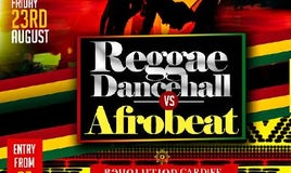 Reggae/Dancehall VS Afrobeat Party