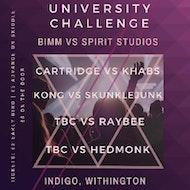 University Challenge Vol. 1: BIMM vs Spirit Studios