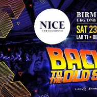 "NICE Underground Pres ""BACK TO THE OLD SKOOL"""
