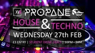 Propane: Wednesday 27th February 2019