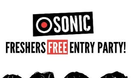 SONIC - FREE ENTRY PARTY // FRESHERS 2019