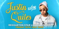 J QUILES REGGAETON STAR IN LONDON - CONCERT + PARTY - Friday 19th July 2019