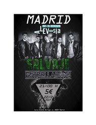 Concierto de salavaje+estrellados