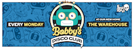 Bobby's Disco Club; 'It's Raining Men' Valentines Special, now at The Warehouse