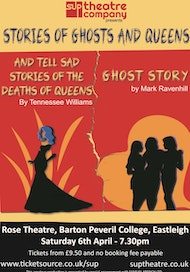 STORIES OF GHOSTS AND QUEENS - two one-acts