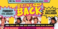 The UK's BIGGEST 90's & 00's throwback party in London!